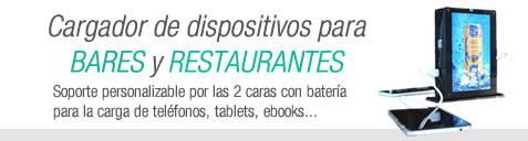 Powerbanks para hostelería